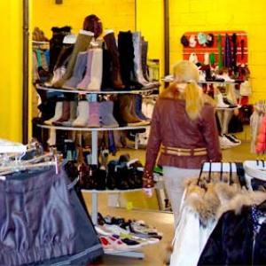 Магазины одежды и обуви Орлика