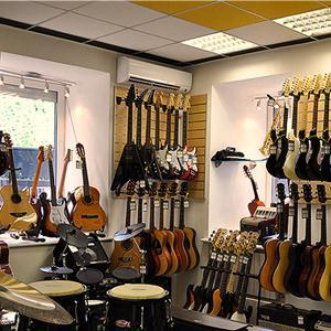 Музыкальные магазины Орлика